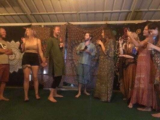 hostel wedding